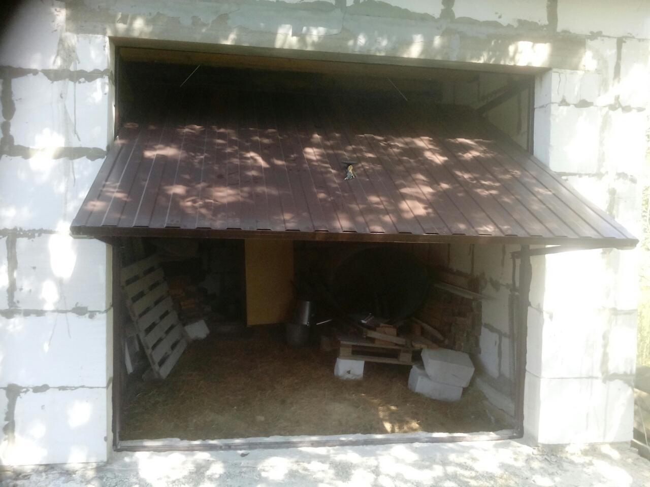 подъемные гаражные ворота из белоруссии